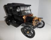 1991 Franklin Mint Die Cast Touring Car 1913 Ford Model T Precision Models