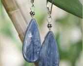 Kyanite Teardrop Earrings