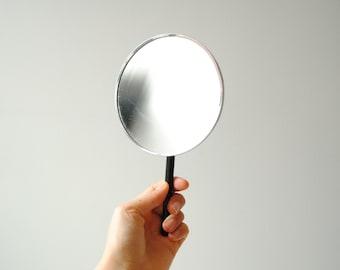 Vintage Mirror, Hand Magnifier Mirror