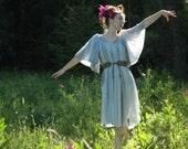 Free Size... Greek Cotton Maxidress... Subtle Sparkles... Fairy Couture