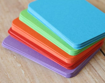 500pc BRIGHT Colours Eco Series Business Card Blanks