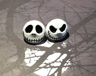 Jack Skellington Earrings - The Nightmare Before Christmas Earrings - Halloween -Christmas