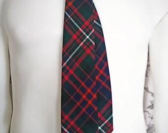 Madawaska Weavers wool necktie