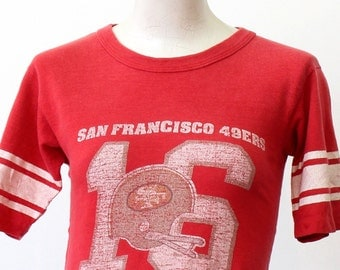 vintage San Francisco 49ers faded T Shirt x-small