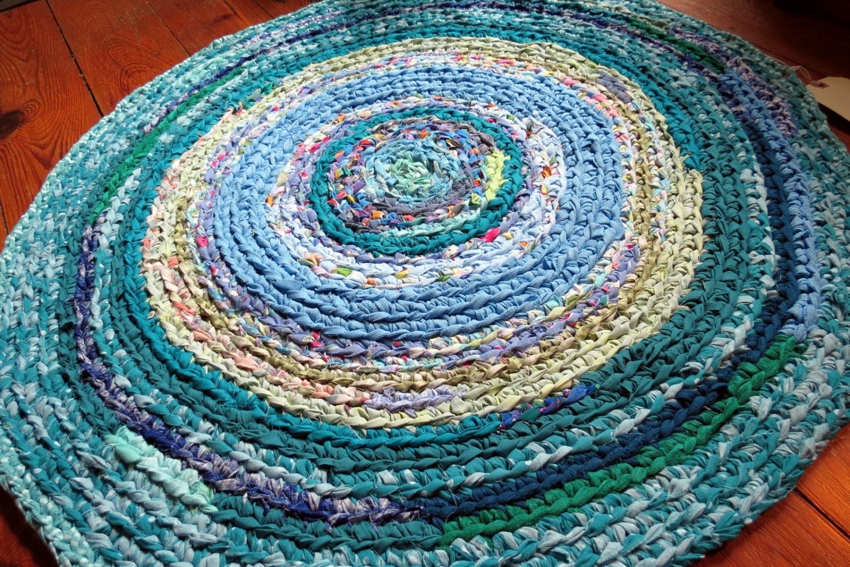 Rag Rug Rag Rugs Braided Rug Crochet Rug