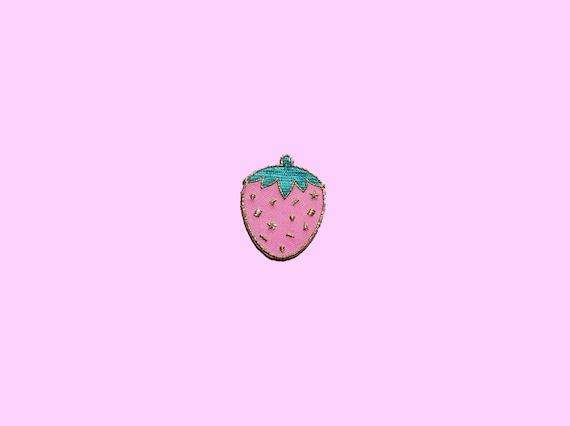 Confetti Strawberry - Metallic Gold