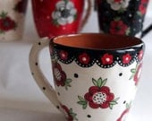 Gypsy Rose Cup - Reserved for Kathleen
