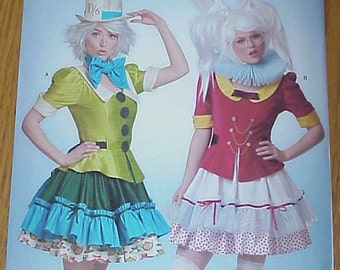 Simplicity D0507 Alice in Wonderland Costumes US Size 6-14 womens - new