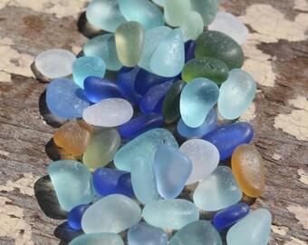 Genuine Tiny Tiny Sea Glass - Vintage Sea Glass from California