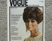 April/May 1968 International Vogue Pattern Book   96 Pages of Fashion Photography, Ads, and Helpful Articles