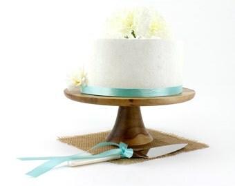 Sweet Gum Cake Stand, Wood Cake Platter, Cake Pedestal, Groom Cake Stand, Wedding Cake Stand, Cupcake Stand, Dessert Pedestal, Hostess Gift