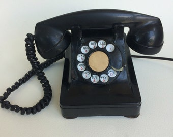 Vintage 1930s Rotary Telephone: Northern Electric Company Limited