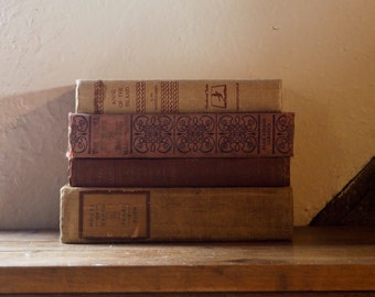 Neutral and Faded Red Books