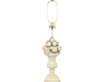 Neoclassical Topiary Lamp by Chapman Hollywood Regency