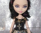 Custom made Doll Cross Pendant Necklace for Ever After High Doll Monster High Doll and Barbie Doll - by TorresDesigns - Ready to Ship