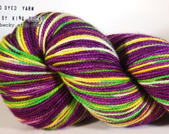 Cosmic Parade - Pixel Yarn - Starman - Limited Edition Sock Yarn - 2 Ply SW Merino/Nylon