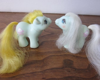 G1 My Little Pony Newborn Twins - Jangles and Tangles