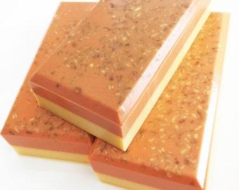 Soap, Pumpkin Waffles Soap, Pumpkin Soap, Waffle Soap, Halloween Soap, Autumn Soap, Fall Soap, Soap Bar, Bar Soap, Bath Soap