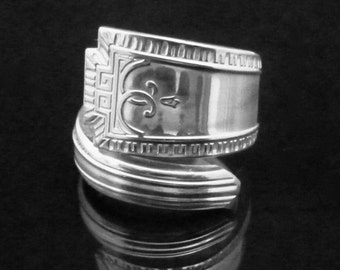 Art Deco Spoon Ring, Viceroy One