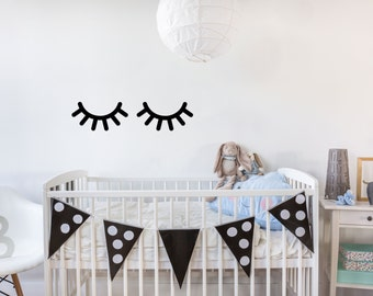 Kids Bedroom Or Baby Nursery Artwork Decor, Sleepy Eye Wall Signs, Signs  For Wall Part 93