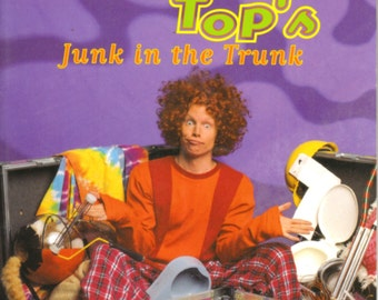 Carrot Top's Junk in the Trunk Softcover Book - by Carrot Top, Inc. - Comedian - Cute - Funny - Humorous!