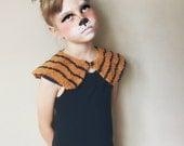 Fox Ears Woodland Creatures Kids Costume, Felt Hair Clips, giddyupandgrow