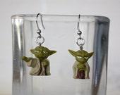 Yoda Stainless steel earrings