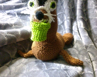Crochet Gerald the Sea Lion from Finding Dory