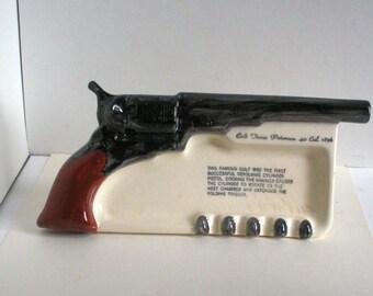 Free Shipping 1950s Colt Ashtray
