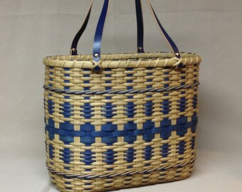 Digital Download, Instructions to Weave the Teacher's Tote Basket, Pattern