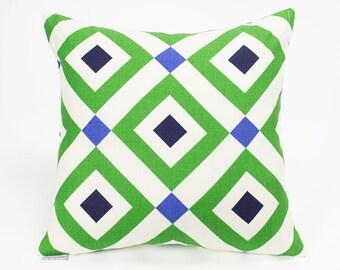 Kravet Vionnet Garden Jonathan Adler Diamond Throw Pillow Cover