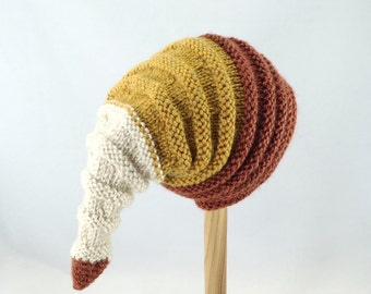 Baby hat, unique winter hat, knitted baby hat
