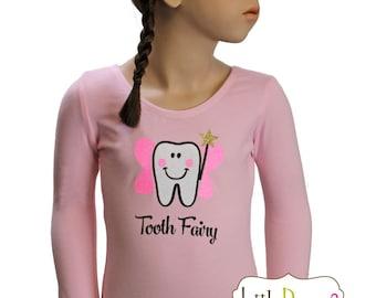 CHILD (Lt.Pink) Tooth Fairy- Long Sleeve Leotard
