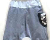Boy Harem Shorts, Trendy Baby and Toddler Pants, Drop Crotch Shorts