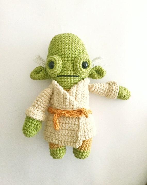 Free Yoda Amigurumi Patterns : Master Yoda Crochet Pattern/amigurumi
