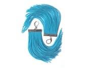 Turquoise Short Fringe Earrings