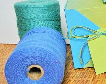 Cotton rug warp 8 oz tube - weaving