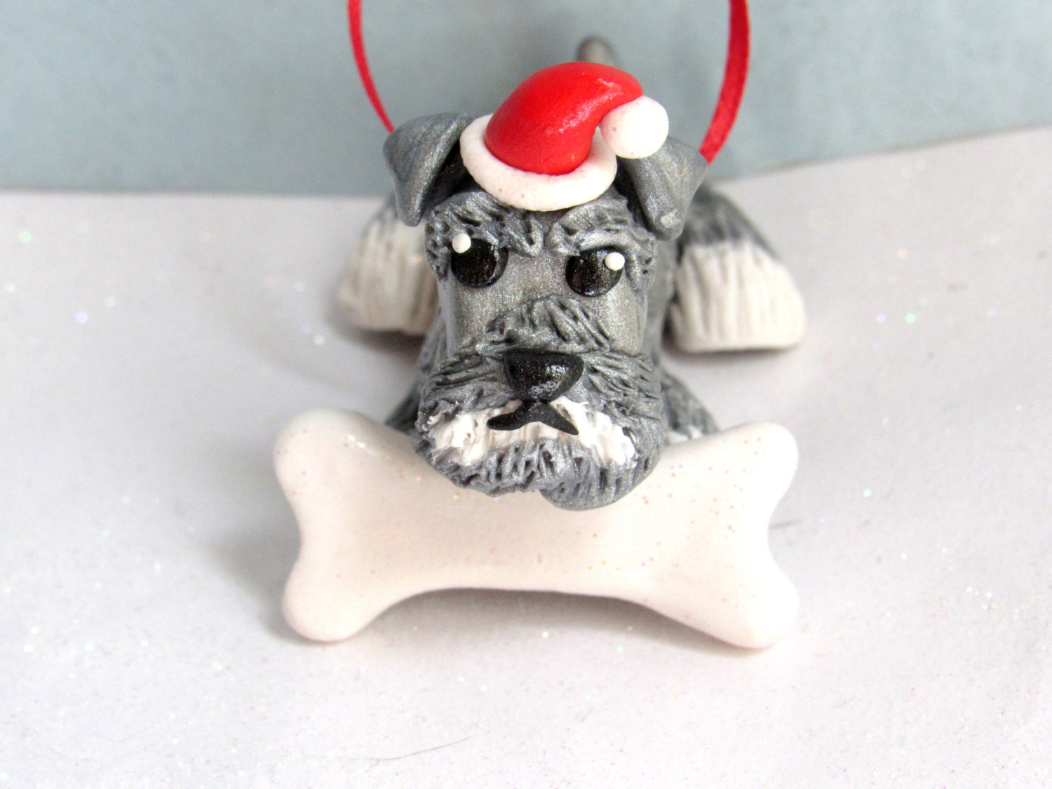 Schnauzer Ornament Dog Christmas Ornaments Christmas
