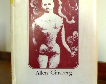1968 Allen Ginsberg Book T.V. Baby Poems Limited Edition of 750 Casebound Bohemian Beat Sixties History