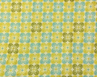 Joel Dewberry VOILE Yellow/Blue Fabric - more yardage available