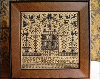 Matter's Choice : Carriage House Samplings Kathy Barrick counted cross stitch patterns sampler quaker folk art primitive hand embroidery