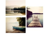 Custom Lake Decor Photo Set
