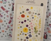 Deco Flower Sticker / Nail Sticker (1 sheet)