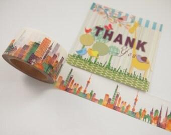 Colorful World Washi Tape (25mm X 8M)