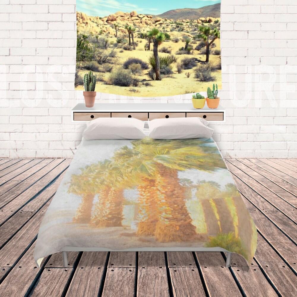 palmier arbres housse de couette literie tropical dorm room. Black Bedroom Furniture Sets. Home Design Ideas