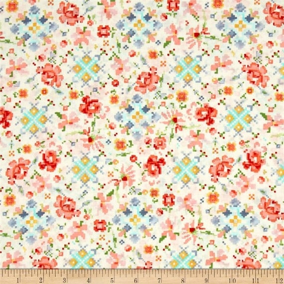 Laminated cotton fabric by the yard woodland clearing liesl for Children s clothing fabric by the yard