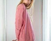 Sleepwear V-Neck Top and Pants