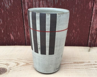 Tumbler with Red line