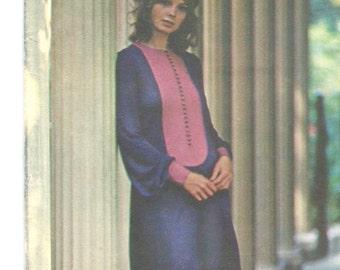 Jean Muir dress pattern -- Butterick Young Designer 5954