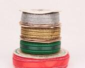 R E S E R V E D // vintage lace trim ribbon // fascinette lace // rust craft